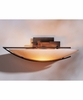 Ondrian Oval Direct Wire Wall Sconce With Glass Options By Hubbardton Forge Lighting