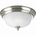 "Progress Lighting (P3924-09) 11-3/8"" Flush Mount"