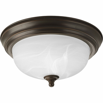 "Progress Lighting (P3924-20) 11-3/8"" Flush Mount"