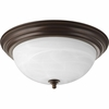 Progress Lighting (P3926-20) 15-1/4 Inch Flush Mount