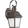 Progress Lighting Andover Collection (P5887-20) Traditional/Classic 1 Light Outdoor CFL Wall Lantern shown in Antique Bronze