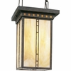 Progress Lighting (P3613-46) Arts and Crafts 3 Light Hall & Foyer Fixture in Weathered Bronze