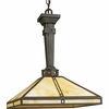 Progress Lighting (P5021-46) Arts and Crafts 1 Light Pendant in Weathered Bronze