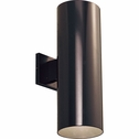 Progress Lighting P5642 82 Cylinder 6 Inch Up Down Outdoor Wall Lantern