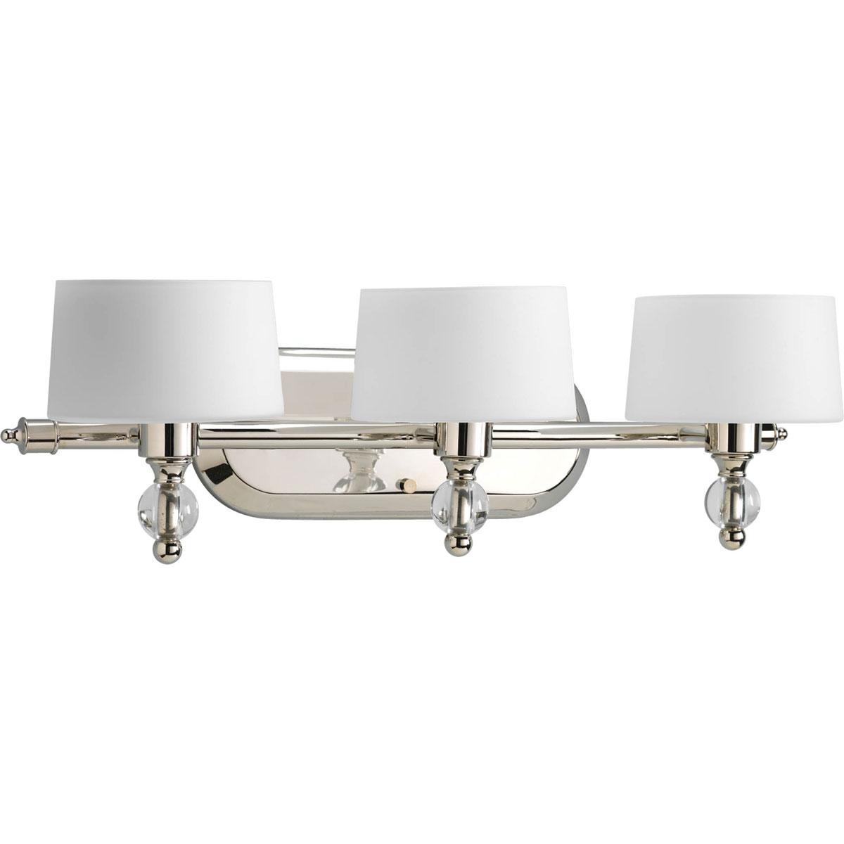 Progress Lighting P2927 104WB Fortune 3 Light Bath & Vanity Fixture wit