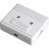 Progress Lighting Hide-a-Lite III Collection (P8740-30) Utility/Landscape Hal3 Junction Box shown in White