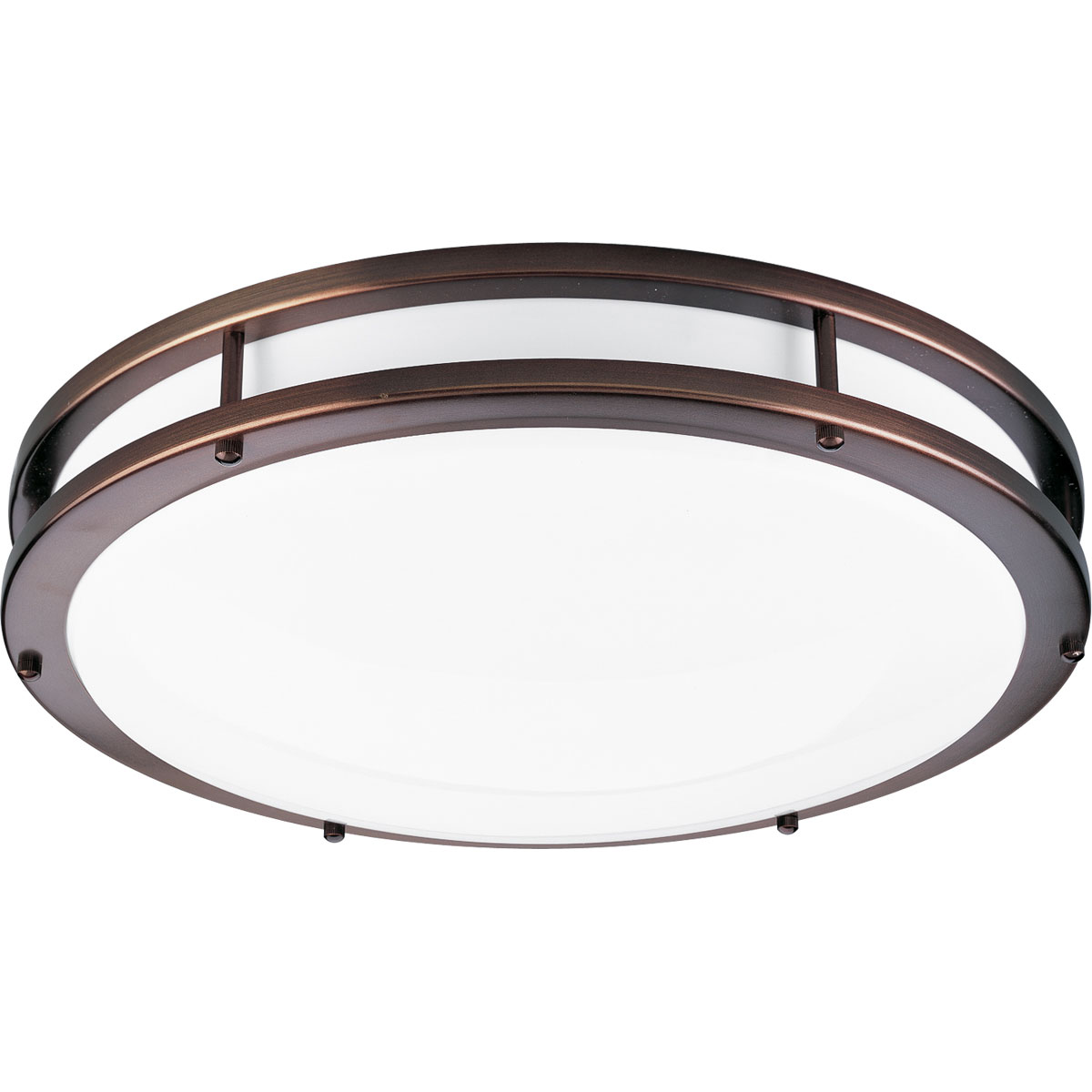 progress lighting p7250 174ebwb 2 light round fluorescent fixture. Black Bedroom Furniture Sets. Home Design Ideas