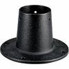 Progress Lighting Outdoor Posts (P8748-31) Utility/Landscape Surface Mount Post Adapter shown in Black