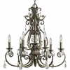 Thomasville Lighting (P4545-72) Savona 6 Light Chandelier in Cognac