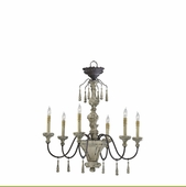 PROVENCE 6LT CHANDLR-CHS From Cyan Design - CY-6513-6-43
