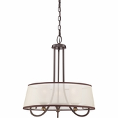 "Quoizel Lighting (PLR2820PN) Palmer 20"" Pendant in Palladian Bronze"