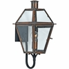 Quoizel Lighting (RO8410ACFL) 1 Light Rue De Royal Outdoor CFL Wall Sconce in Patinaed Solid Copper with Antique Highlights