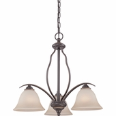Quoizel Lighting (VTA5103PN) Ventura Dinette Chandelier in Palladian Bronze