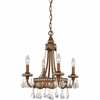 Quoizel Mini Chandelier Chandelier From Quoizel Lighting - QMC404BO