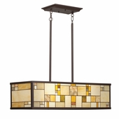 Riverview Island 4 Light shown in Olde Bronze by Kichler Lighting