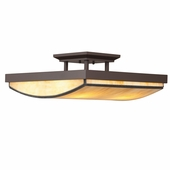Riverview Semi Flush 4 Light shown in Olde Bronze by Kichler Lighting
