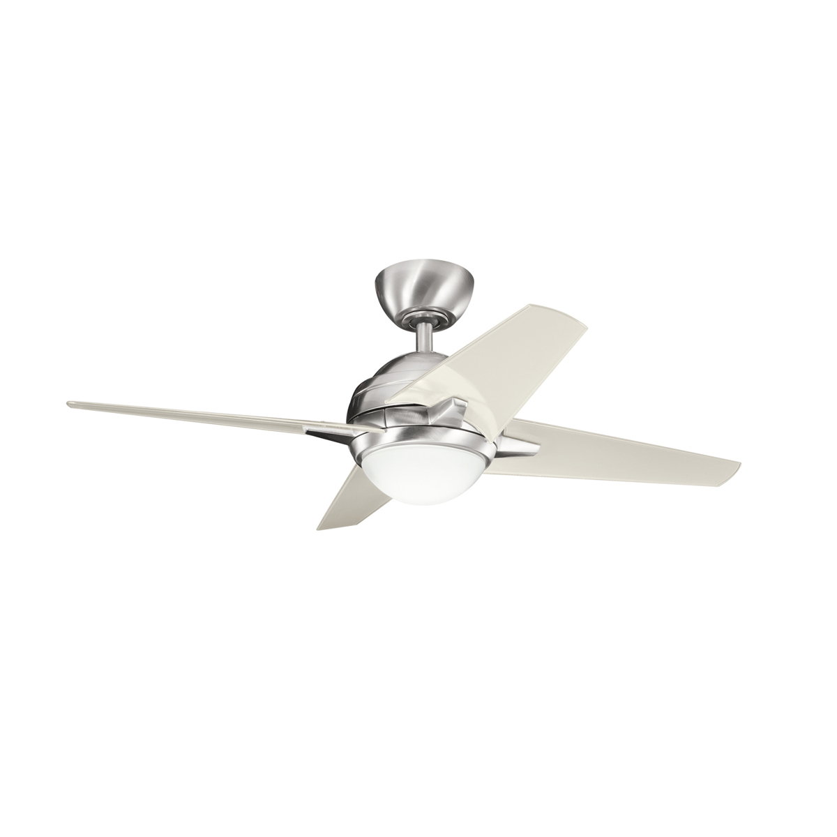 Hunter Hr21230 42inch White Ceiling Fan With Light Fan