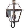 Quoizel Lighting (RO8311AC) 2 Light Rue De Royal Outdoor Wall Sconce in Patinaed Solid Copper with Antique Highlights