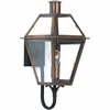 Quoizel Lighting (RO8410AC) 1 Light Rue De Royal Outdoor Wall Sconce in Patinaed Solid Copper with Antique Highlights