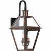 Quoizel Lighting (RO8411AC) Rue De Royal Outdoor Wall Lantern in Aged Copper Finish