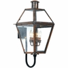 Quoizel Lighting (RO8414AC) Rue De Royal Outdoor Wall Lantern in Aged Copper Finish