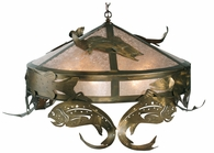 Meyda Tiffany (111957) 48 Inch Width Catch Of The Day Trout Pendant