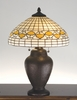 Meyda Tiffany (82152) 23.5 Inch Height Tiffany Acorn Table Lamp