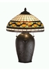 Meyda Tiffany (19169) 23 Inch Height Tiffany Acorn Table Lamp