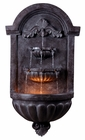 San Marco Indoor/Outdoor Wall Fountain shown in Plum Bronze Finish by Kenroy Home