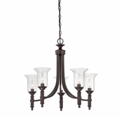 Savoy House (1-7130-5-13) Trudy 5 Light Chandelier in English Bronze