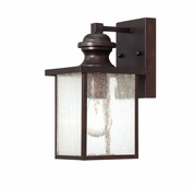 Savoy House (5-600-13) Newberry 11 Inch Height Exterior Wall Lantern in English Bronze