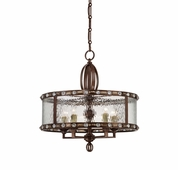 Savoy House (7-6031-5-131) Paragon 5 Light Pendant in Gilded Bronze