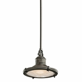 Sayre Pendant 1 Light shown in Olde Bronze by Kichler Lighting