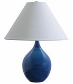 Scatchard 19 Inch Stoneware Accent Lamp by House of Troy