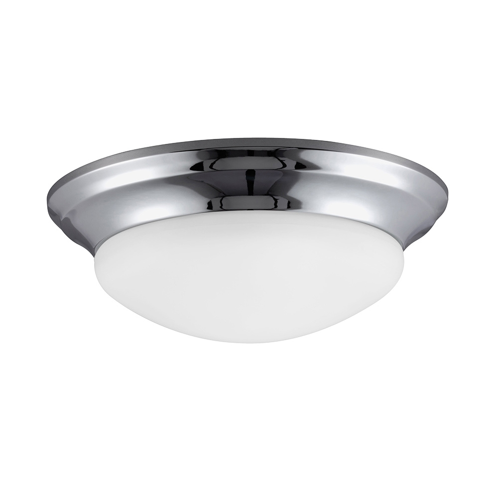 Sea gull lighting sgl 7543491s led small ceiling flush for Small flush mount lights