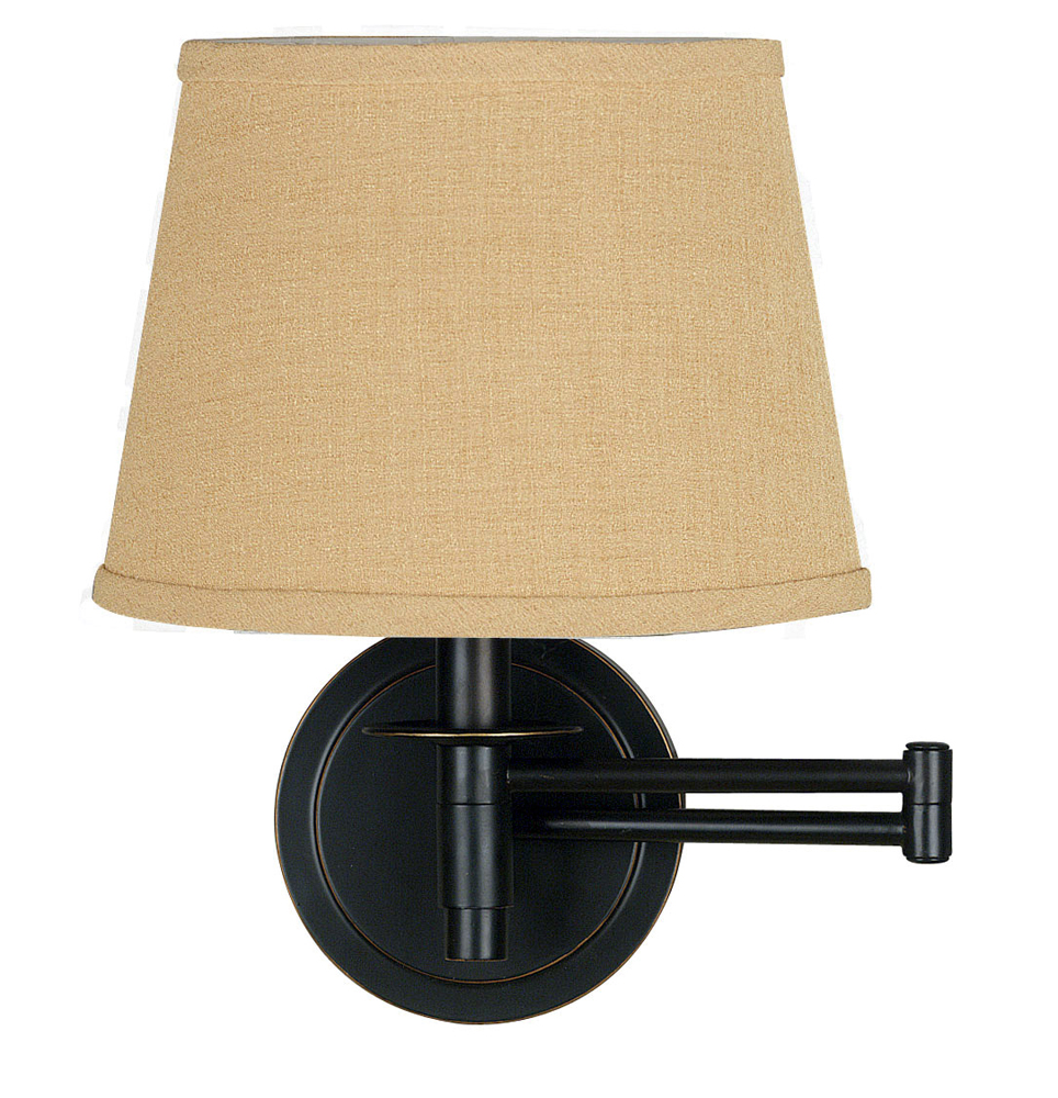 sheppard 14 inch wall swing arm lamp shown in oil rubbed bronze finish. Black Bedroom Furniture Sets. Home Design Ideas