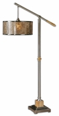Sitka Silver Floor Lamp by Designer Carolyn Kinder from Uttermost