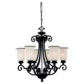 Six-Light Acadia Chandelier