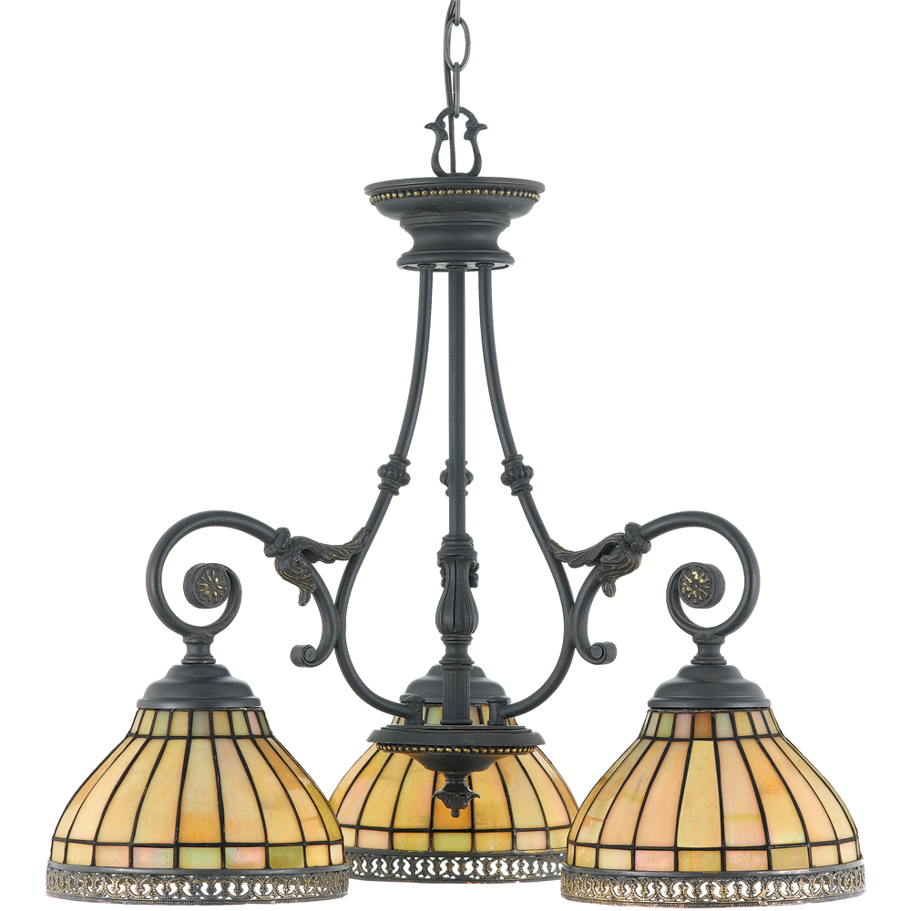 Sonnet- European Style Sonnet Chandelier In Dynasty Finish From Quoizel Lighting- TFSO5103DN