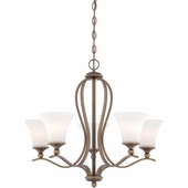 Quoizel Lighting (SPH5005PN) Sophia 5-Light Chandelier in Palladian Bronze