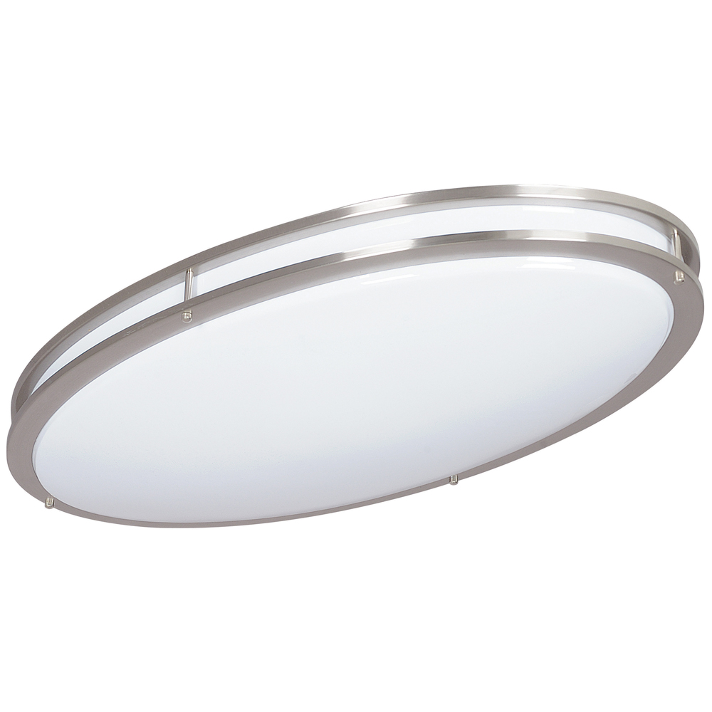 Sunset Lighting F9880 Two Light Bright Satin Nickel