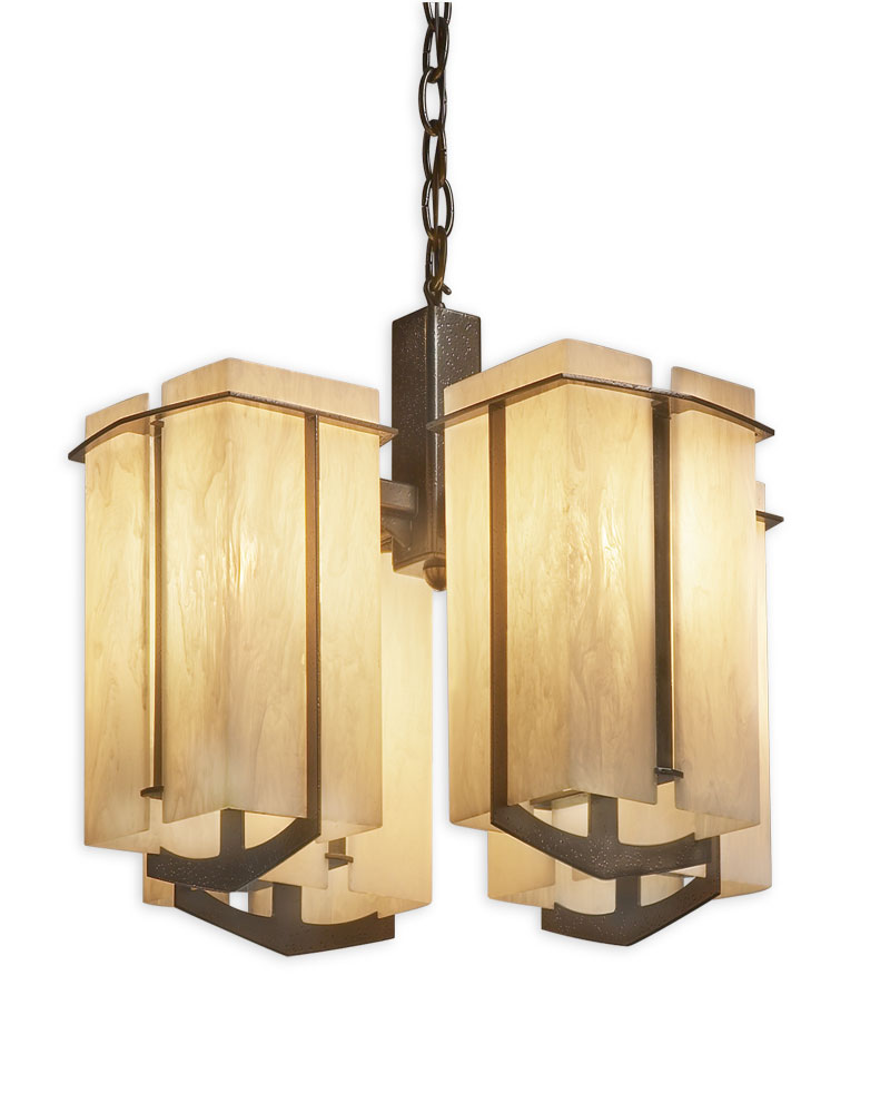 Synergy 4 Light Hanging Fixture By Ultralights Lighting