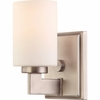 Taylor- Contemporary Style Taylor Bath Fixture In Antique Nickel Finish From Quoizel Lighting- TY8601AN