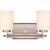 Taylor- Contemporary Style Taylor Bath Fixture In Antique Nickel Finish From Quoizel Lighting- TY8602AN