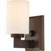 Taylor- Contemporary Style Taylor Bath Fixture In Western Bronze Finish From Quoizel Lighting- TY8601WT