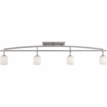 Taylor- Contemporary Style Taylor Ceiling Track Light In Antique Nickel Finish From Quoizel Lighting- TY1404AN