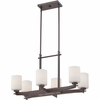 Taylor- Contemporary Style Taylor Island Light In Western Bronze Finish From Quoizel Lighting- TY628WT