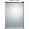 Taylor- Contemporary Style Taylor Mirror In Antique Nickel Finish From Quoizel Lighting- TY43625AN