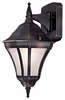 The Great Outdoors (8201-94-PL) Segovia 1 Light Outdoor Wall Mount