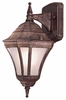 The Great Outdoors (8201-61-PL) Segovia 1 Light Outdoor Wall Mount
